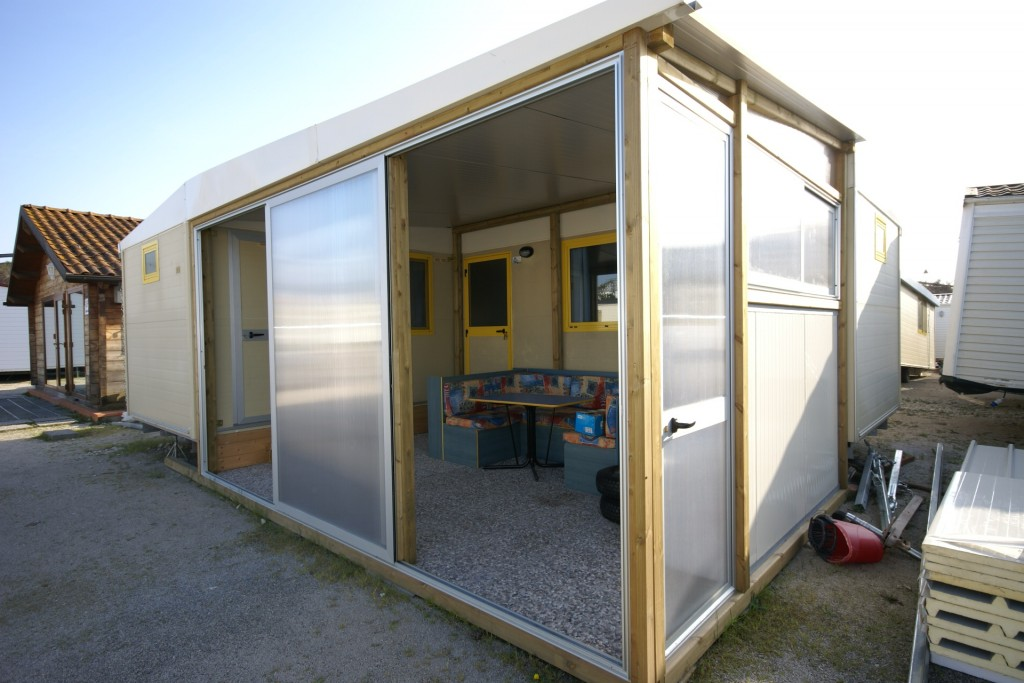 Casa mobile shelbox modello elle 4springs case mobili for Casa mobile