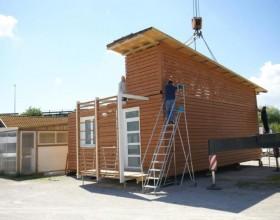 Trasporto e montaggio case mobili